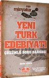 2018 Minyatür Yeni Türk Edebiyatı Tamamı Çözümlü Soru Bankası
