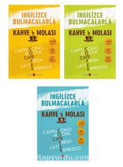İngilizce Bulmacalarla Kahve Molası Set (3 Kitap)