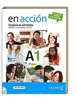 En acción A1 Cuaderno de actividades (Etkinlik Kitabı +Audio descargable) ) İspanyolca Temel Seviye