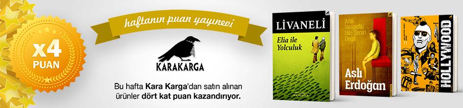 Kara Karga Yayınları'ndan 4 kat Ekstra Puan Kampanyası