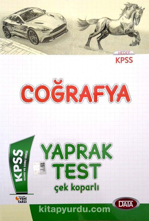 KPSS Coğrafya Yaprak Test - Kollektif pdf epub