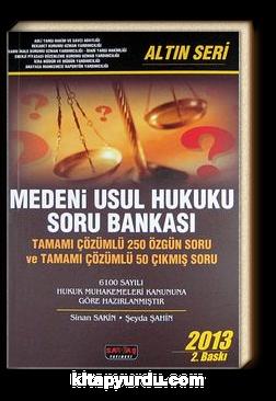 2013 Medeni Usul Hukuku Soru Bankası