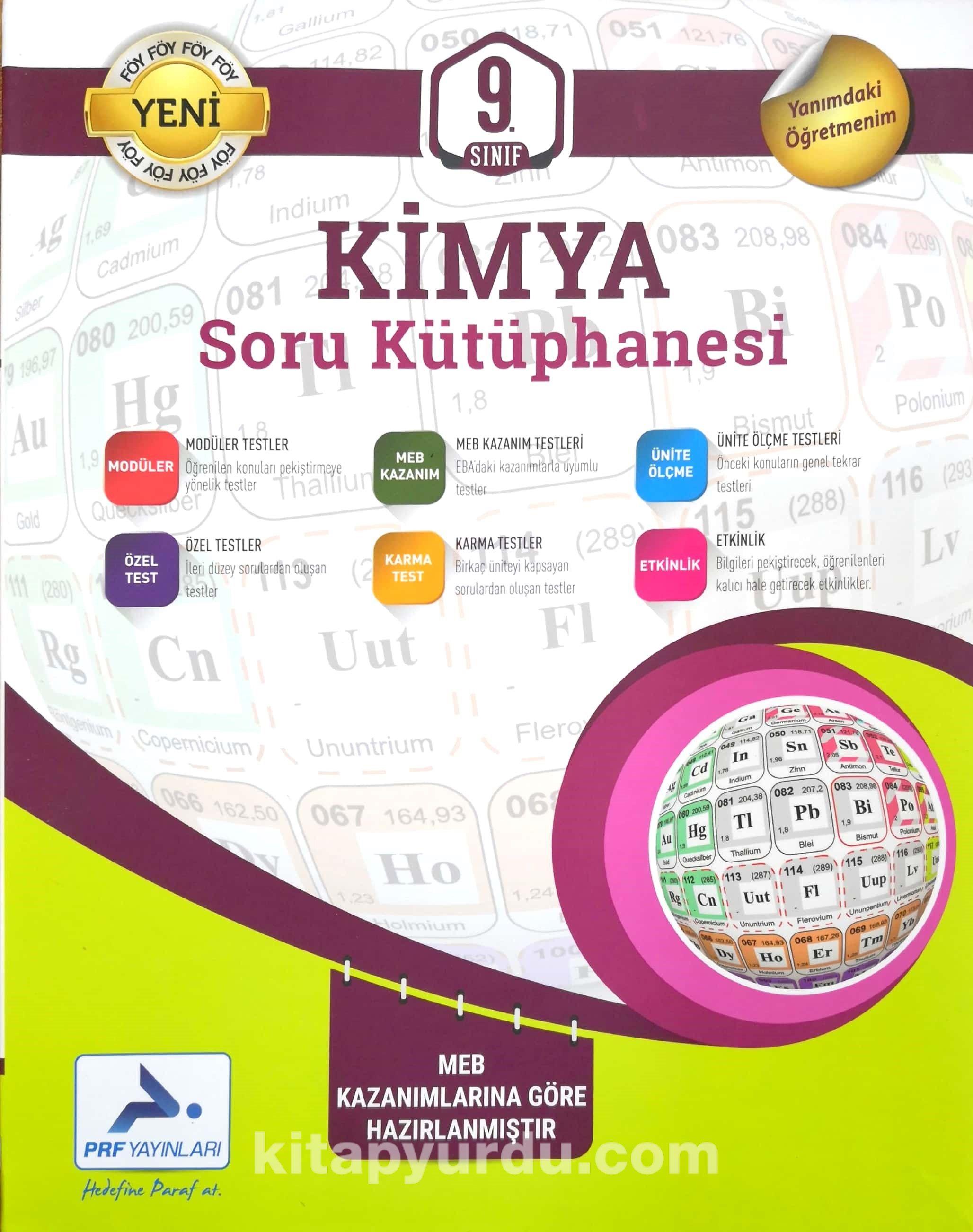 9. Sınıf Kimya Soru Kütüphanesi - Kollektif pdf epub