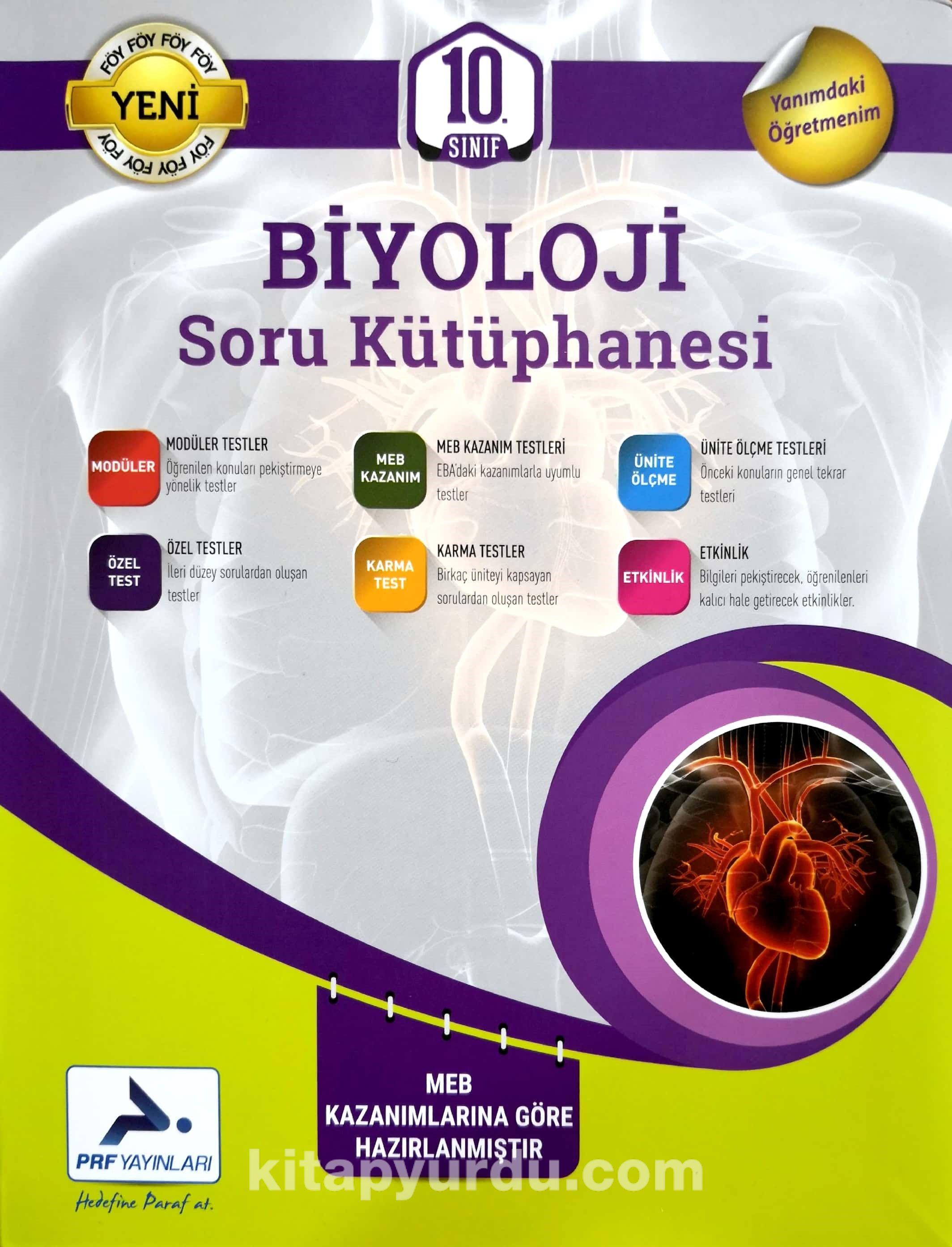 10. Sınıf Biyoloji Soru Kütüphanesi - Kollektif pdf epub