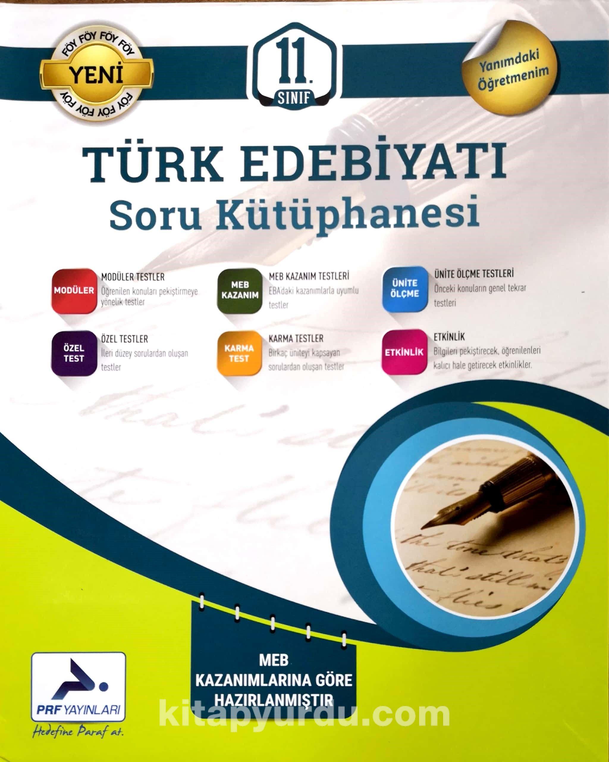 11. Sınıf Türk Edebiyatı Soru Kütüphanesi - Kollektif pdf epub