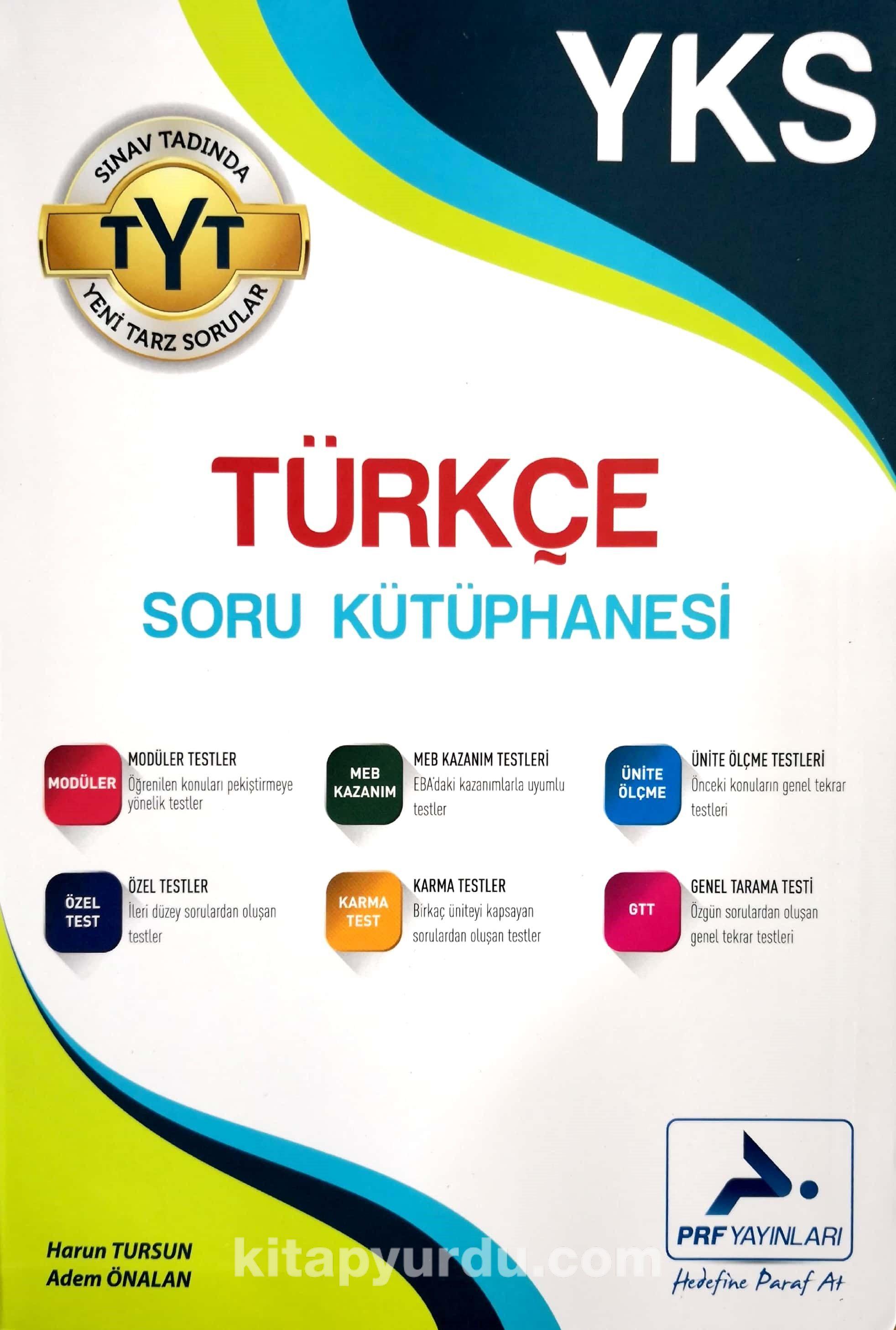 YKS TYT Türkçe Soru Kütüphanesi - Harun Tursun pdf epub