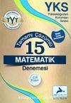 YKS TYT Tamamı Çözümlü 15 Matematik Denemesi