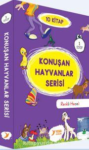 Konuşan Hayvanlar Serisi Renkli Heceli (10 Kitap) (1. Sınıf)