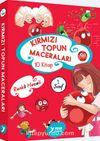 1. Sınıf Kırmızı Topun Maceraları Renkli Heceli-Düz Yazı (10 Kitap)