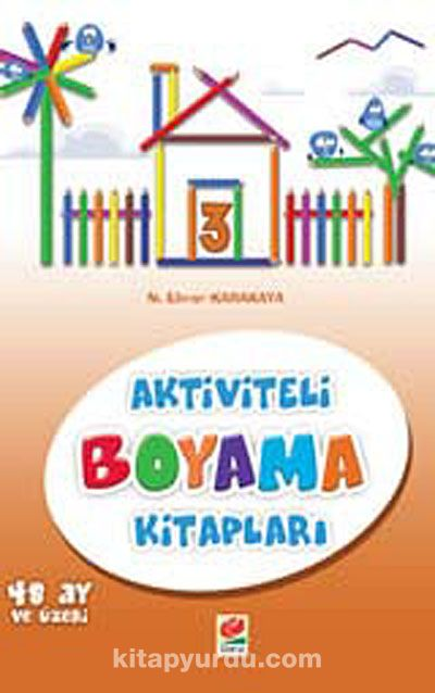 Aktiviteli Boyama Kitapları -3 -  pdf epub
