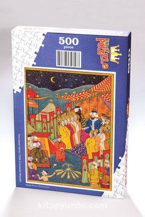 Surname - Minyatür Ahşap Puzzle 500 Parça (TS08-D)