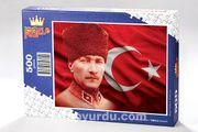 Atatürk Ahşap Puzzle 500 Parça (TR08-D)