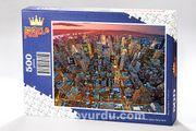 Manhathan New York Ahşap Puzzle 500 Parça (UK08-D)