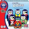 Sevimli Penguenler İkili Eşleştirme Kartları Mini Kutu Oyunu (3-6 Yaş)