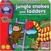 Sevimli Vahşi Hayvanlar Merdiven Oyunu (4-7 Yaş)