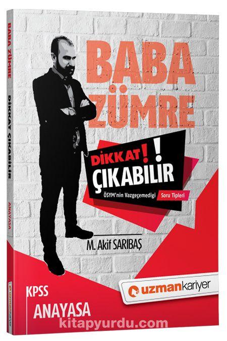 Dikkat Çıkabilir KPSS Anayasa - M. Akif Sarıbaş pdf epub