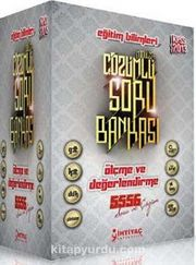 2013 KPSS Eğitim Bilimleri Modüler Çözümlü Soru Bankası (6 Kitap)(5556 Soru)
