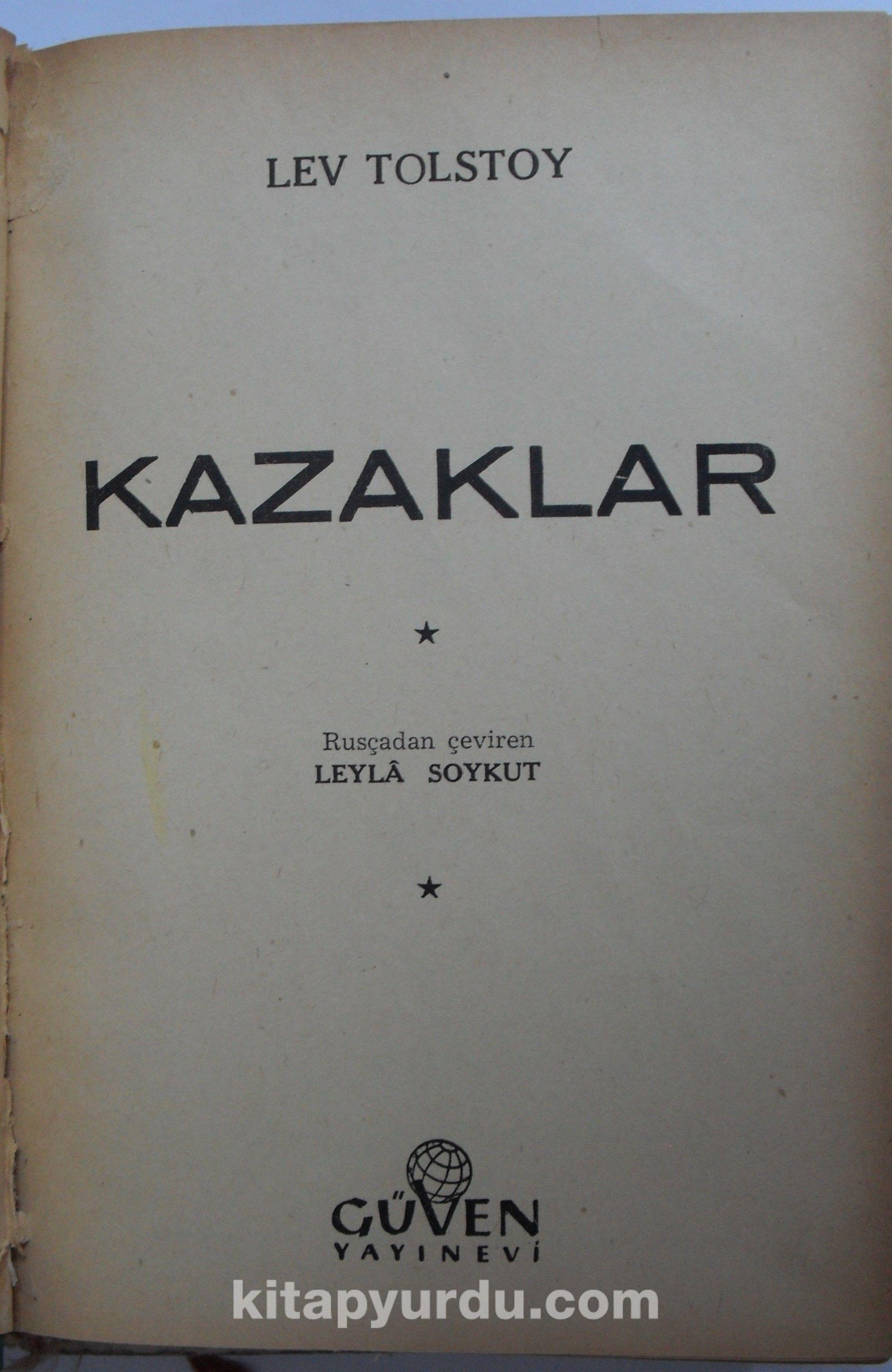 Kazaklar (Kod:6-A-32) - Lev N. Tolstoy pdf epub
