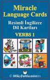Miracle Language Cards - Verbs 1 / Resimli İngilizce Dil Kartları