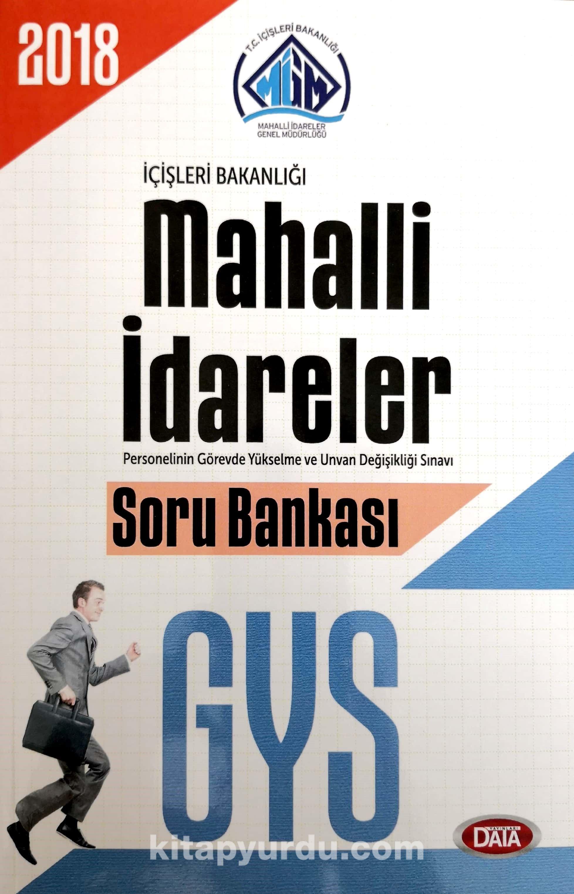 GYS İçişleri Bakanlığı Mahalli İdareler Soru Bankası - Kollektif pdf epub
