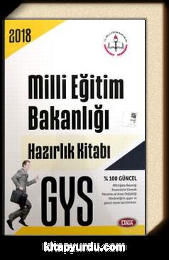 2018 GYS Milli Eğitim Bakanlığı Hazırlık Kitabı