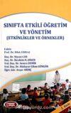 Sınıfta Etkili Öğretim ve Yönetim (Etkinlikler ve Örnekler)