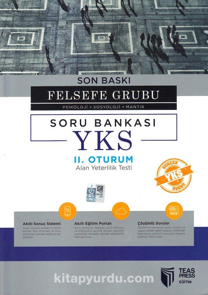 YKS II. Oturum Felsefe Grubu (Psikoloji-Sosyoloji-Mantık) Soru Bankası Son Baskı - Kollektif pdf epub