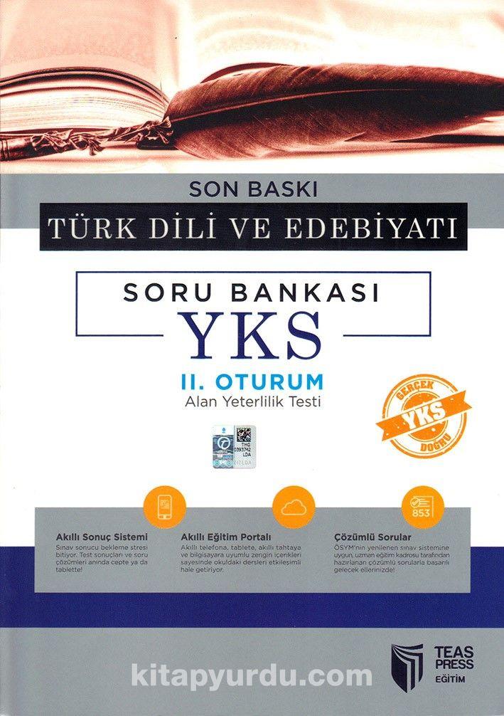 YKS II. Oturum Türk Dili ve Edebiyatı Soru Bankası Son Baskı - Kollektif pdf epub