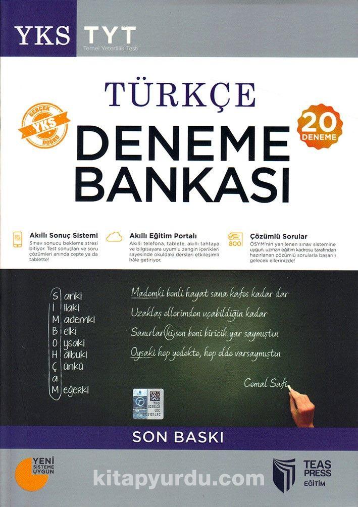 YKS-TYT Türkçe Deneme Bankası (20 Deneme) - Kollektif pdf epub