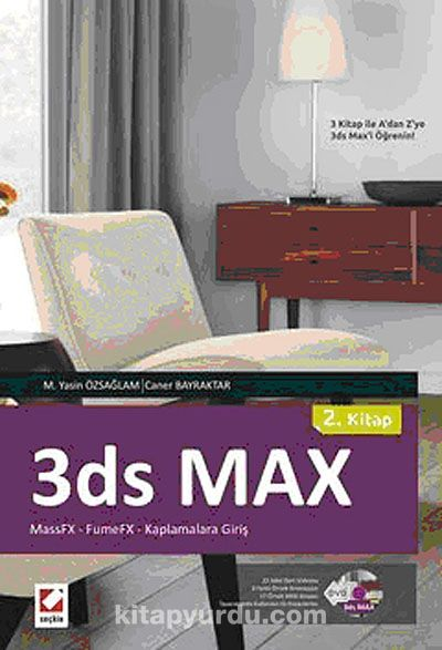 3ds Max - 2. Kitap (DVD'li)MasFX - Fume FX - Kaplamalara Giriş