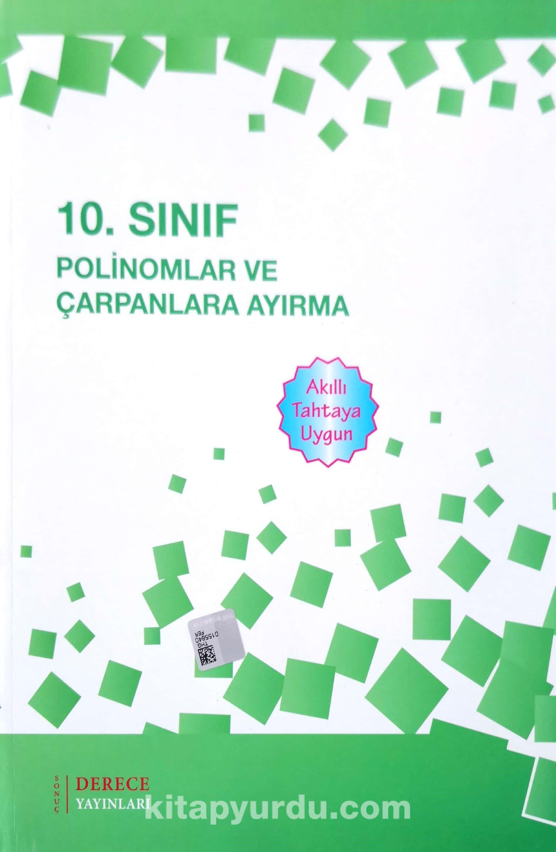 10. Sınıf Polinomlar ve Çarpanlara Ayırma - Kollektif pdf epub