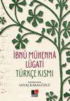 İbnü Mühenna Lügati Türkçe Kısmı