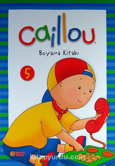 Caillou Boyama Kitabı 5 Kitapyurducom