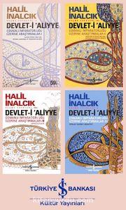 Halil İnalcık Devlet-i Aliyye Seti (4 Kitap)