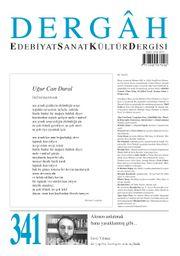 Dergah Edebiyat Sanat Kültür Dergisi Sayı:341 Temmuz 2018
