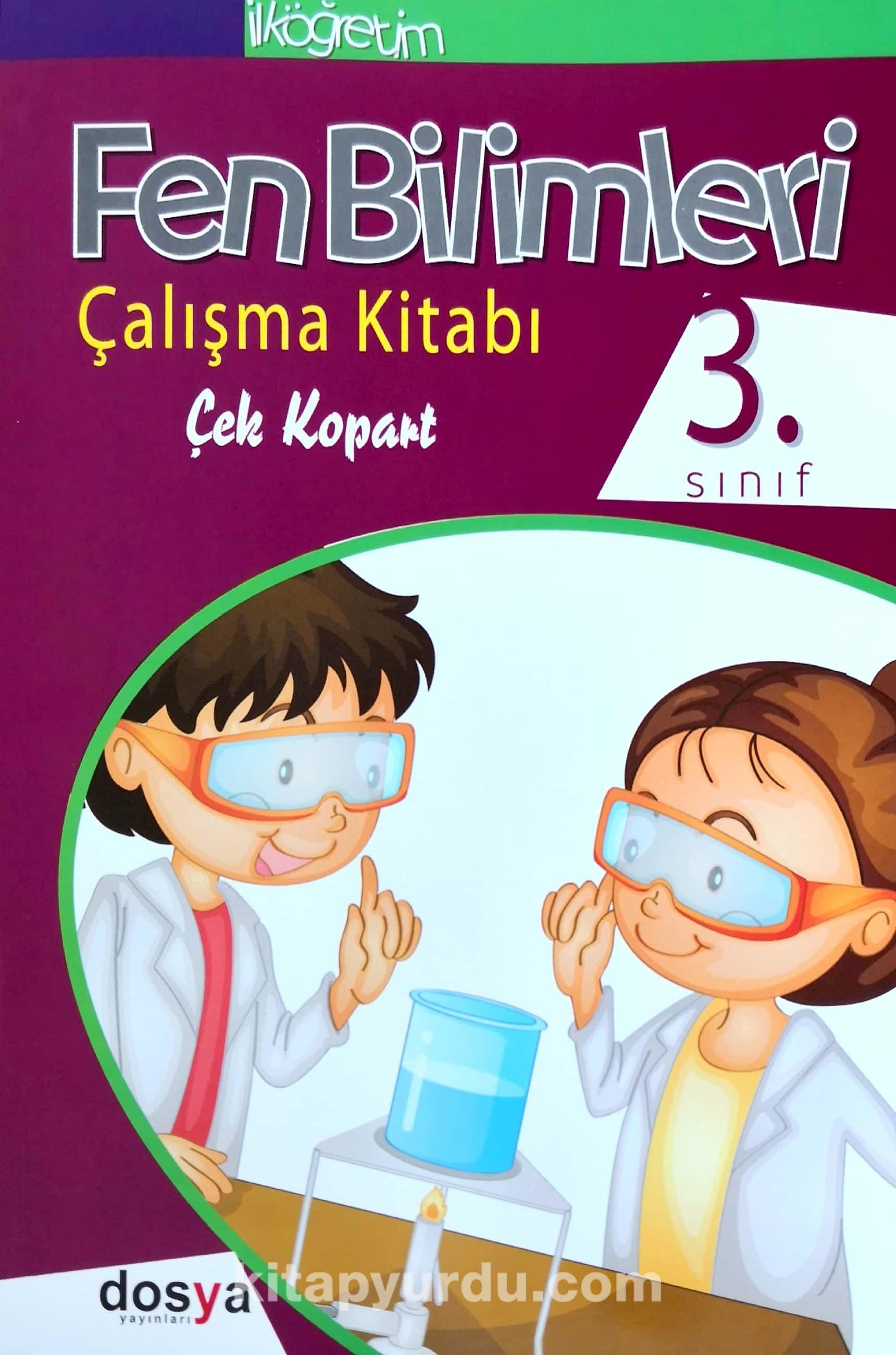3. Sınıf Fen Bilimleri Çalışma Kitabı Çek Kopart - Komisyon pdf epub