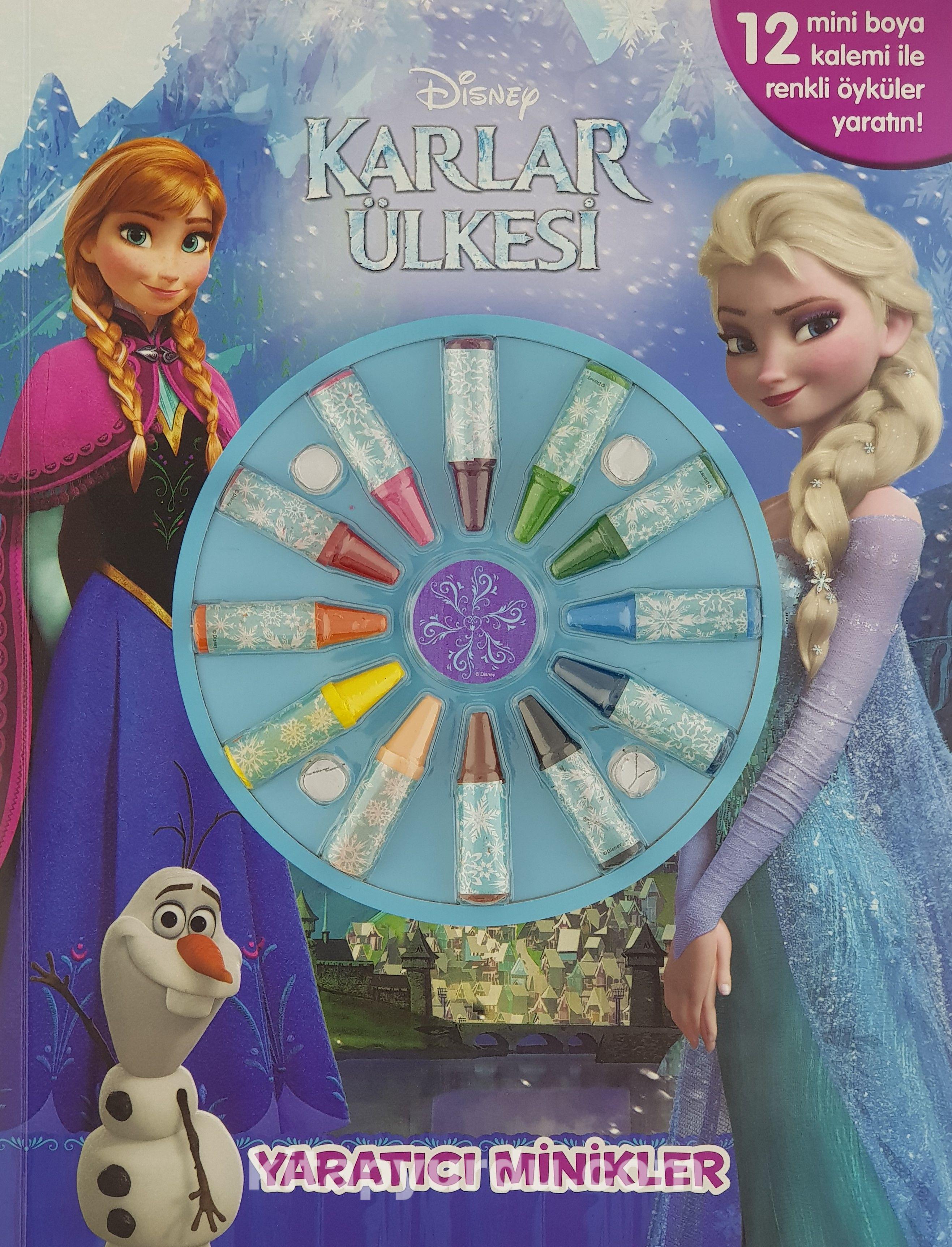 Disney Karlar Ulkesi Yaratici Minikler Kollektif Kitapyurdu Com