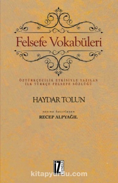 Felsefe Vokabüleri - Haydar Tolun pdf epub