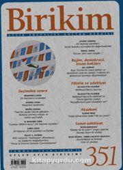 Birikim Aylık Sosyalist Kültür Dergisi Sayı:351 Temmuz 2018