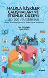 Halkla İlişkiler Çalışmaları ve Etkinlik Düzeyi: İSO 500 Araştırması