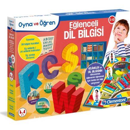 Oyna ve Öğren Eğlenceli Dil Bilgisi (Kod:64809)
