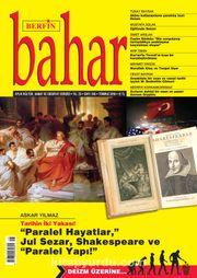 Berfin Bahar Aylık Kültür Sanat ve Edebiyat Dergisi Temmuz 2018 Sayı: 245