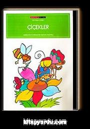 çiçekler 16 Syf Renkli Boyama Kitabı Mustafa Delioğlu