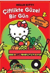 Hello Kitty / Çiftlikte Güzel Bir Gün Boyama Kitabı