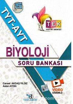 TYT AYT TEK Serisi Video Çözümlü Biyoloji Soru Bankası - Aslan Aydın pdf epub