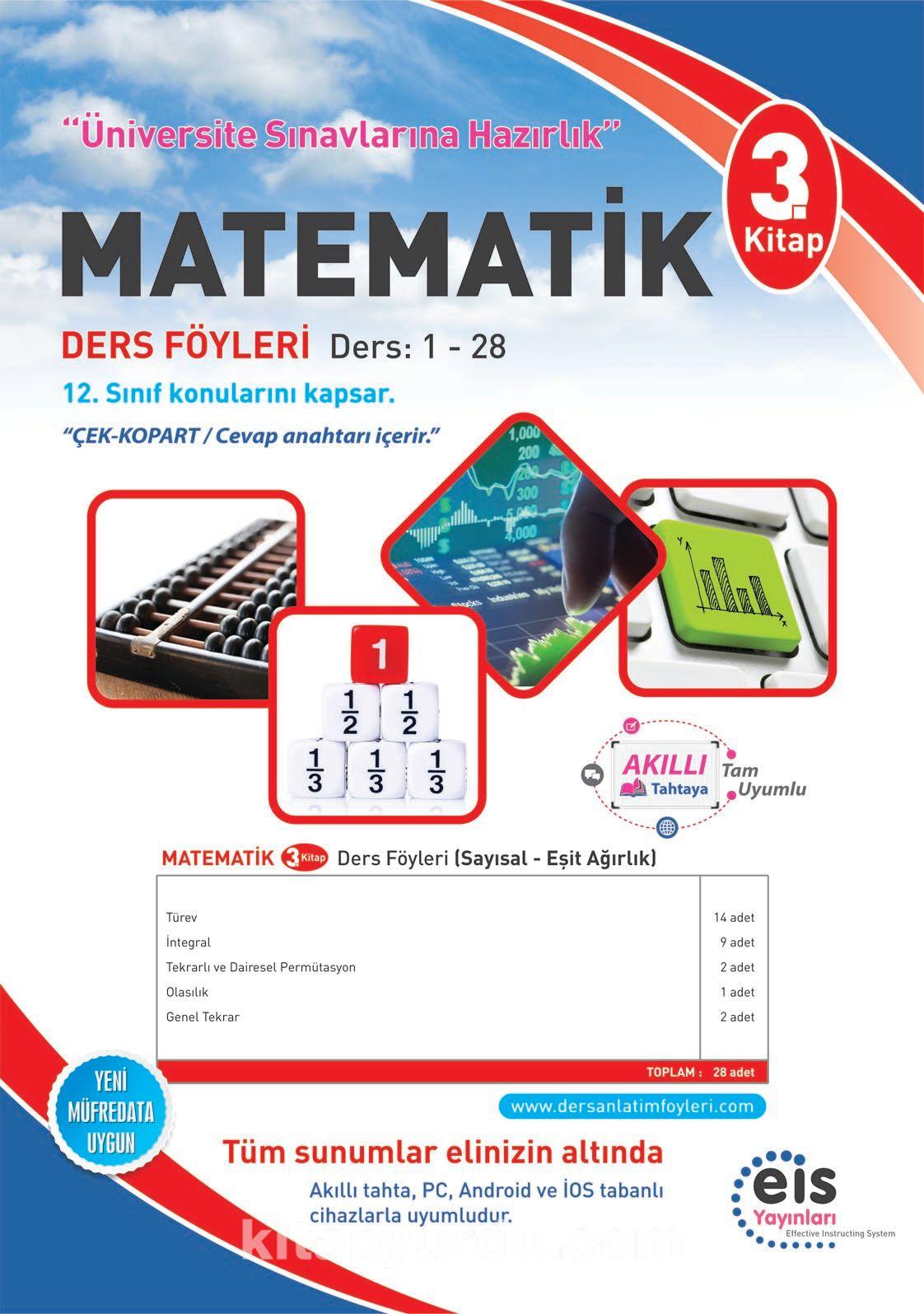 Matematik 3. Kitap Ders Föyleri Ders:1-28 - Kollektif pdf epub