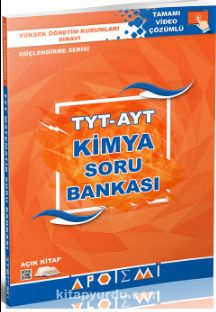 TYT AYT Kimya Soru Bankası Tamamı Video Çözümlü
