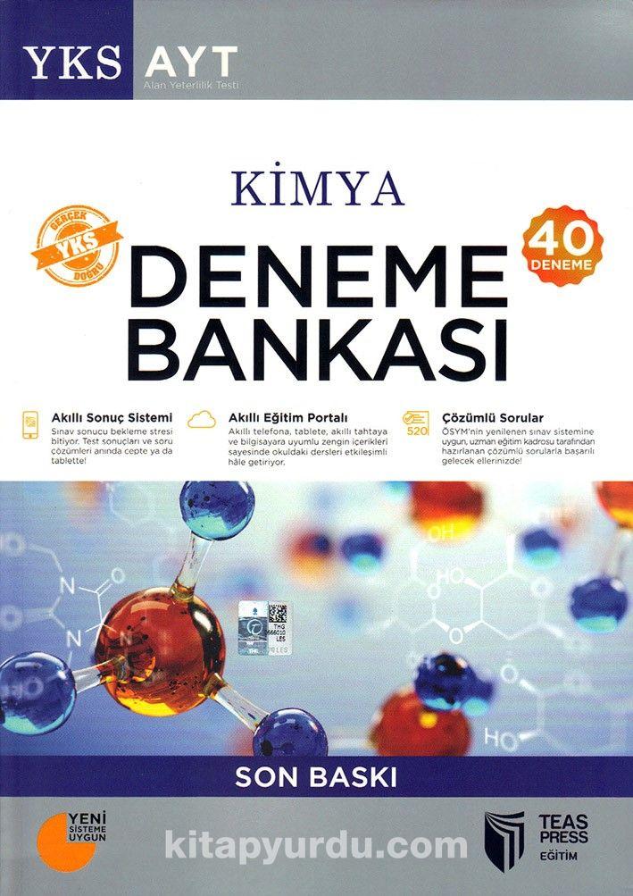 YKS-AYT Kimya Deneme Bankası (40 Deneme) - Kollektif pdf epub