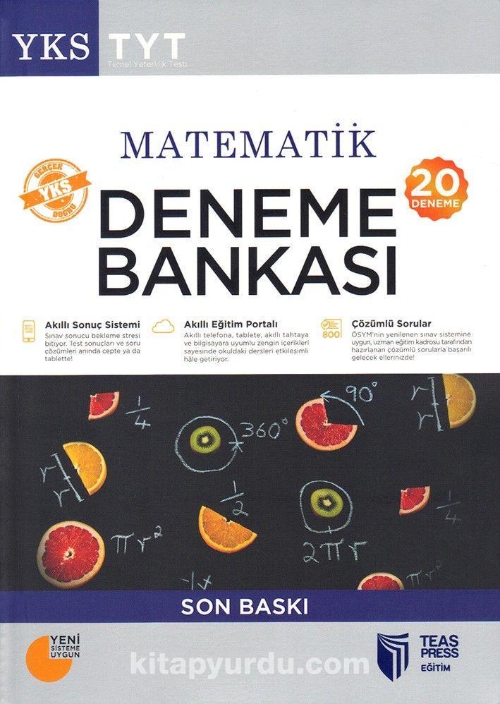 YKS-TYT Matematik Deneme Bankası Son Baskı (20 Deneme) - Kollektif pdf epub