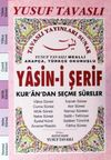 Arapça-Türkçe Okunuşlu Yasin-i Şerif Kur'an'dan Seçme Sureler (Pembe) (Kod:E25A)
